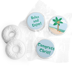 Personalized Bonnie Marcus Collection Retirement Beach Life Savers Mints
