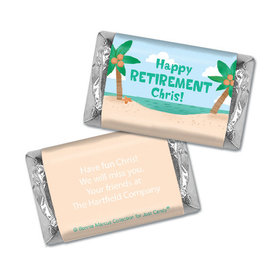 Personalized Bonnie Marcus Collection Retirement Beach Mini Wrappers Only