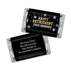 Personalized Bonnie Marcus Collection Retirement Fireworks Mini Wrappers Only