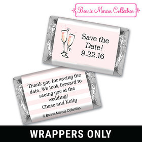 Bonnie Marcus Collection Wrapper The Bubbly Custom Save the Date