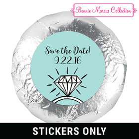 "Bonnie Marcus Collection Save the Date Last Fling 1.25"" Stickers (48 Stickers)"