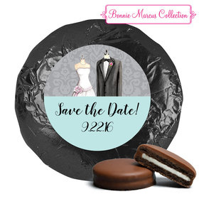 Bonnie Marcus Collection Save the Date Forever Together Milk Chocolate Covered Oreo Cookies (24 Pack)