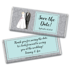 Bonnie Marcus Collection Personalized Chocolate Bar Wrappers Chocolate and Wrapper Forever Together Save the Date Favor