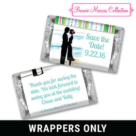 Bonnie Marcus Collection Wrapper Tropical I Do Save the Date Candy Bars