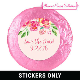 "Bonnie Marcus Collection Wedding Save the Date Favors 1.25"" Stickers (48 Stickers)"