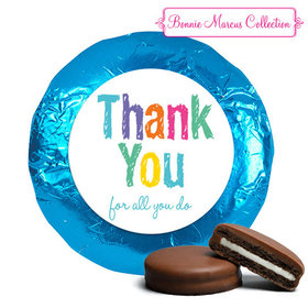 Bonnie Marcus Collection Chocolate Covered Oreo Cookies Colorful Thank You