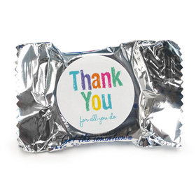 Bonnie Marcus Collection Teacher Appreciation Peppermint Patties Colorful Thank You