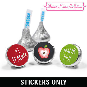 "Bonnie Marcus Collection Teacher Appreciation Apple 3/4"" Sticker (108 Stickers)"