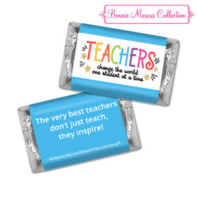 Bonnie Marcus Collection Teacher Appreciation Gold Star Hershey's Miniatures