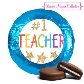 Bonnie Marcus Collection Chocolate Covered Oreo Cookies Gold Star
