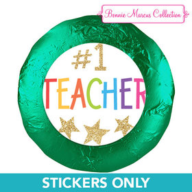 "Bonnie Marcus Collection 1.25"" Stickers Gold Star (48 Stickers)"