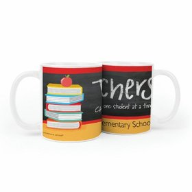 Personalized Bonnie Marcus Teacher Appreciation Books 11oz Mug