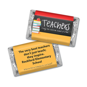 Personalized Bonnie Marcus Collection Teacher Appreciation Books Mini Wrappers