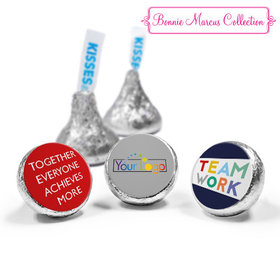 Personalized Bonnie Marcus Collection Teamwork Acrostic Assembled Hershey's Kisses (50 Pack)