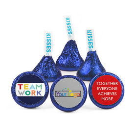 Personalized Bonnie Marcus Teamwork Acrostic Hershey's Kisses (50 pack)