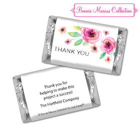 Personalized Bonnie Marcus Thank You Bouquet Hershey's Miniatures