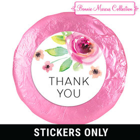 "Personalized Bonnie Marcus Thank You Bouquet 1.25"" Stickers (48 Stickers)"