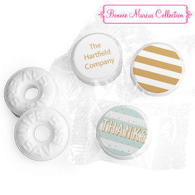 Personalized Bonnie Marcus Thank You Stripes and Dots Life Savers Mints