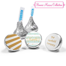 Personalized Bonnie Marcus Thank You Stars and Stripes Hershey's Kisses (50 Pack)
