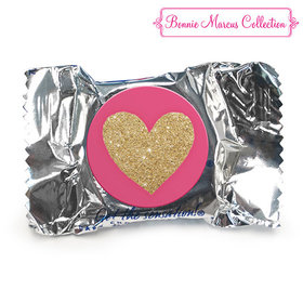 Bonnie Marcus Collection Valentine's Day Glitter Heart York Peppermint Patties