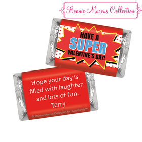 Bonnie Marcus Personalized Valentine's Day Comic Hershey's Miniatures