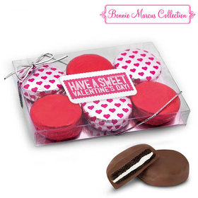 Non Pers Valentine's Day Sweet Treat 6Pk Belgian Chocolate Covered Oreo Cookies
