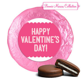 Bonnie Marcus Collection Valentine's Day Pattern Milk Chocolate Covered Oreos