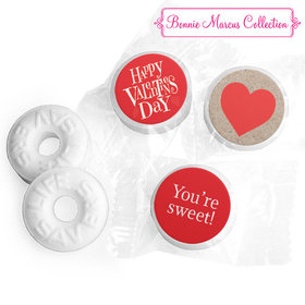 Personalized Valentine's Day Cute Hearts LIFE SAVERS Mints