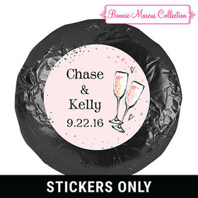 Bonnie Marcus Collection Wedding The Bubbly Personalized Stickers (48 Stickers)