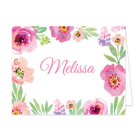 Bonnie Marcus Collection Watercolor Floral Birthday Thank You