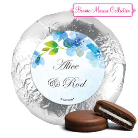 Personalized Bonnie Marcus Wedding Flower Arch Milk Chocolate Covered Oreos (24 Pack)
