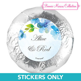 "Personalized Bonnie Marcus Wedding Flower Arch 1.25"" Stickers (48 Stickers)"