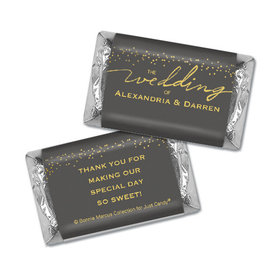 Personalized Bonnie Marcus Wedding Divine Gold Mini Wrappers Only