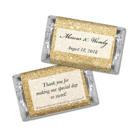 Personalized Bonnie Marcus Wedding All That Glitters Mini Wrappers Only