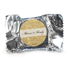 Personalized Bonnie Marcus Wedding All That Glitters York Peppermint Patties