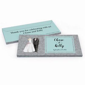Deluxe Personalized Wedding Forever Together Hershey's Chocolate Bar in Gift Box