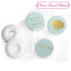 Personalized Bonnie Marcus Wedding Siren's Shell Life Savers Mints