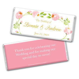 Personalized Bonnie Marcus Wedding Hershey's Chocolate Bar & Wrapper