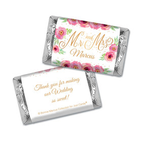 Personalized Bonnie Marcus Wedding Mr. & Mrs. Mini Wrappers Only