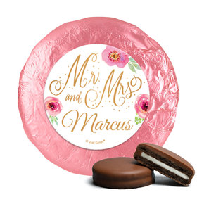 Personalized Wedding Mr. & Mrs. Chocolate Covered Oreos (24 Pack)