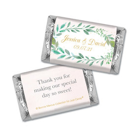 Personalized Bonnie Marcus Wedding Forever Foliage Mini Wrappers Only