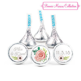 Personalized Bonnie Marcus Wedding Blossom Bliss Hershey's Kisses (50 Pack)