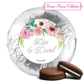 Personalized Wedding Reception Blossom Bliss York Peppermint Patties (24 Pack)