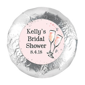 Bonnie Marcus Collection Wedding The Bubbly Milk Chocolate Covered Oreo Cookies Foil Wrapped (24 Pack)