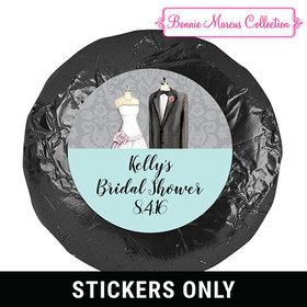"Bonnie Marcus Collection Bridal Shower Forever Together 1.25"" Stickers (48 Stickers)"