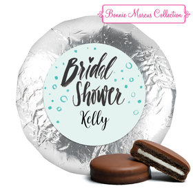 Bonnie Marcus Collection Bridal Shower Sunny Soiree Belgian Chocolate Covered Oreo Cookies Foil Wrapped (24 Pack)