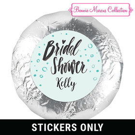 """Bonnie Marcus Collection Bridal Shower Sunny Soiree 1.25"""" Stickers (48 Stickers)"""