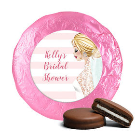 Bonnie Marcus Collection Wedding Bridal Shower Favors Milk Chocolate Covered Oreo Cookies (24 Pack)