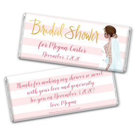 Bonnie Marcus Collection Personalized Chocolate Bar Wrappers Bridal Shower Bridal March Personalized