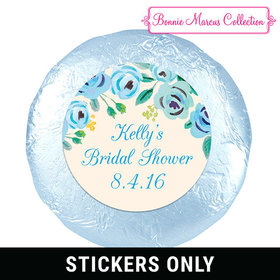 "Bonnie Marcus Collection Bridal Shower Here's Something Blue 1.25"" Stickers (48 Stickers)"